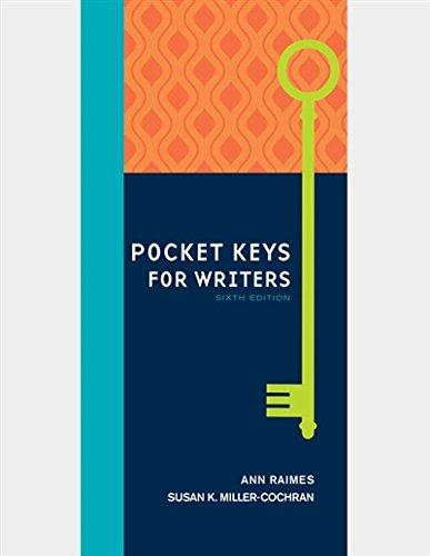 Pocket Keys for Writers, Spiral bound Version (Keys for Writers Series)