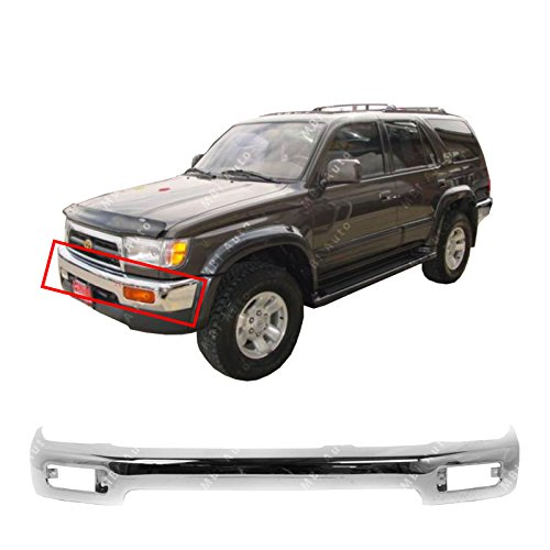 (MBI AUTO - Chrome, Steel Front Bumper Face Bar for 1996-1998 Toyota 4Runner Limited 96-98,)