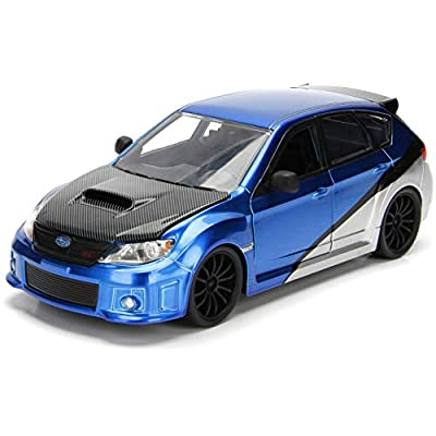 1:24 Fast & Furious - Brian's Subaru Impreza WRX STI: Toys & Games