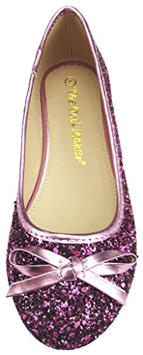The Fuchsia Doll Maker Ballet Flat Glitter 0pB0q6f