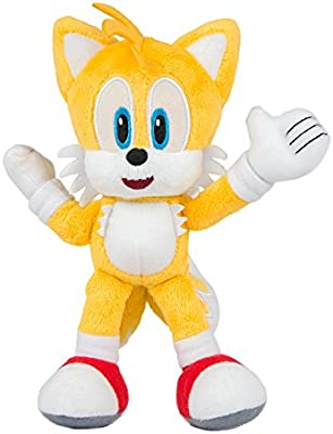 Amazon Com Tomy Sonic Collector Series Small Plush Modern Tails