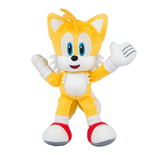 TOMY Sonic Collector Series, Small Plush Modern Tails Plush