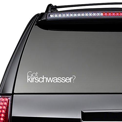 Kirschwasser Drinks (Idakoos - Got Kirschwasser? - Drinks - Decal Pack x 3)