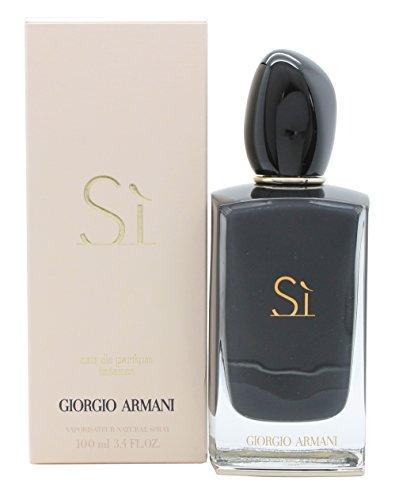 Intense Spray Edp (Giorgio Armani Eau De Parfum Si Intense Spray for Women, 3.4 Ounce)