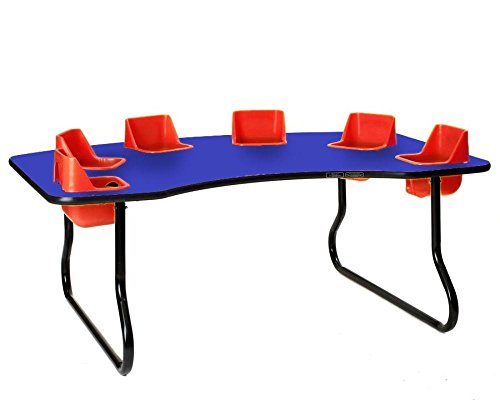 TODDLER TABLE 6 Seat Table, 27'' Tall by Toddler Tables Brand (Image #1)