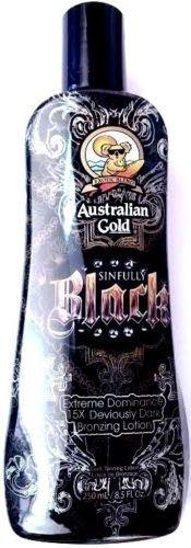 Australian Gold Sinfully Black Bronzer Tanning Lotion 8.5 Oz/ 250 Ml by Australian Gold