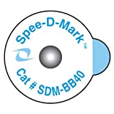 Spee-D-Mark SDM-BB40 Radiology Skin Marker Radiopaque, 4.0 mm Size (Box of 50)