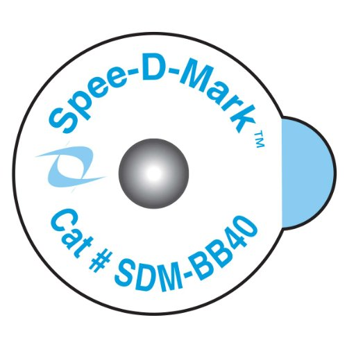 Spee-D-Mark SDM-BB40 Radiology Skin Marker Radiopaque, 4.0 mm Size (Box of 50) by PDC Healthcare