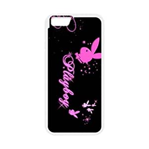 iPhone 6 Plus 5.5 Inch Cell Phone Case White Playboy M2J6M