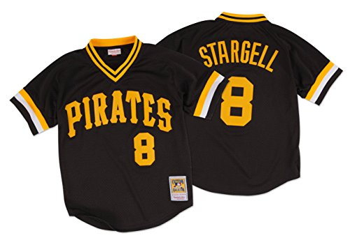 Willie Stargell1982 Authentic Mesh BP Jersey Pittsburgh Pirates Size XL