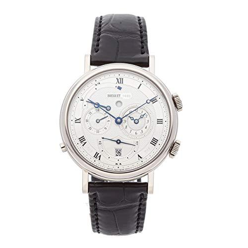 Breguet Classique Mechanical (Automatic) Silver Dial Mens Watch 5707BB/12/9V6 (Certified Pre-Owned) (Breguet Watches Men)