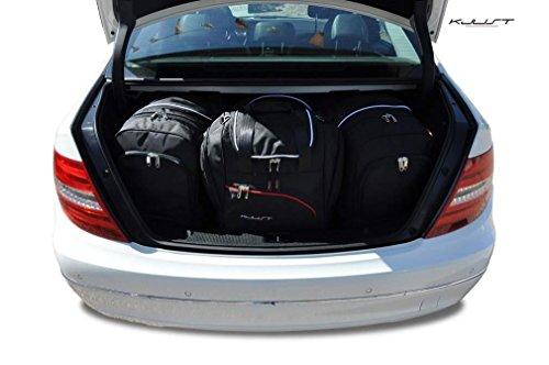 CAR BAGS AUTO TASCHEN MASSTASCHEN ROLLENTASCHEN MERCEDES C SEDAN, W204, 2006- -KJUST