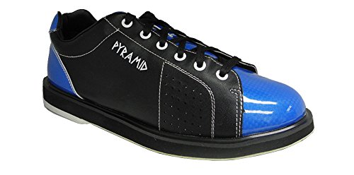 Pyramid Mens Path Bowling Shoes (Black/Blue, Size 10)