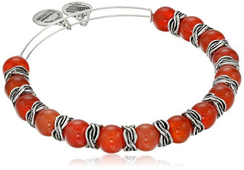 Alex and Ani Independence Earth Red Bracelet (Alex And Ani Red Beaded Bracelet)