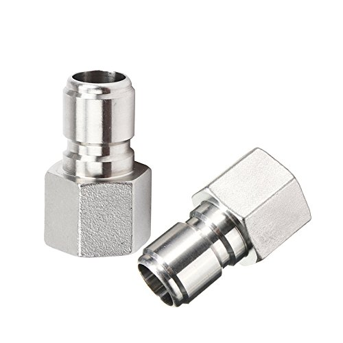 ProMaker 2Pcs Stainless Steel Female Quick Disconnect FPT 1/2