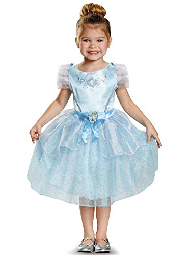 Cinderella Toddler Classic Costume, Large (4-6x) -
