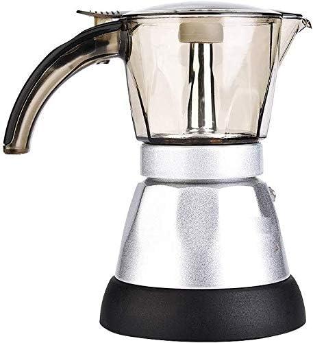 ZJDECR El café fue de 150 ml / 300 ML Mocha Cafetera Filtro 220V ...