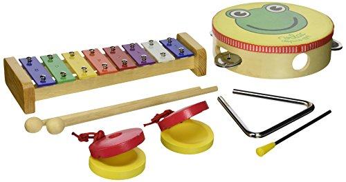 Vilac - 8293 - Jouet Premier âge - Musique - Set Instruments de Musique en Sac