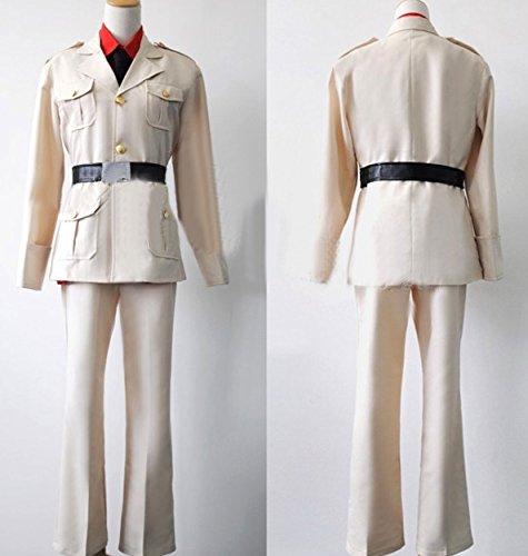 Relaxcos APH Axis Powers Hetalia South Italy Amy Uniform Cosplay Costume