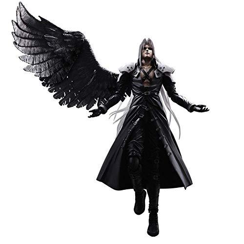 Play Arts Kai Action Figure - Sephiroth from \Final Fantasy VII Advent Children\ (Final Fantasy Vii Advent Children Play Arts Sephiroth)