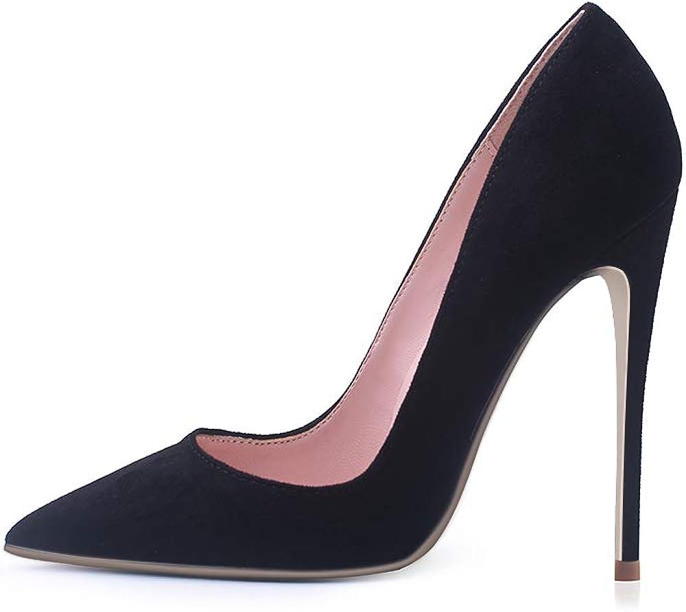 Amazon Com Elisabet Tang High Heels Women Pumps Pointed Toe Stilettos 4 7 Inch 12cm Sexy Heels Party Shoes Pumps