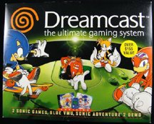 Sega Dreamcast System and Sonic Bundle