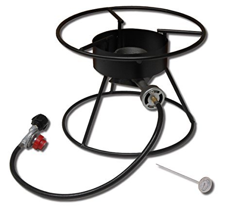 King Kooker 110-17PKT 12-Inch Portable Propane Outdoor Cooker with 17-Inch Diameter Top Ring