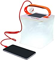 LuminAID PackLite 2-in-1 Phone Charger Lanterns | Great for Camping, Hurricane Emergency Kits and Travel | As