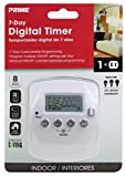 Prime Wire & Cable TND002 2-Outlet 7 day Digital