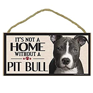 Imagine This Wood Sign for Pit Bull Dog Breeds 30