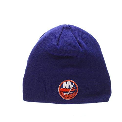"Zephyr ""Edge"" Skull Cap – NHL Cuffless Winter Knit Beanie Toque Hat – DiZiSports Store"