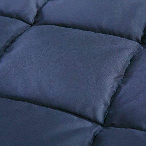 Puredown All Season Goose Down Sport Blanket, Down proof Peach Skin Fabric
