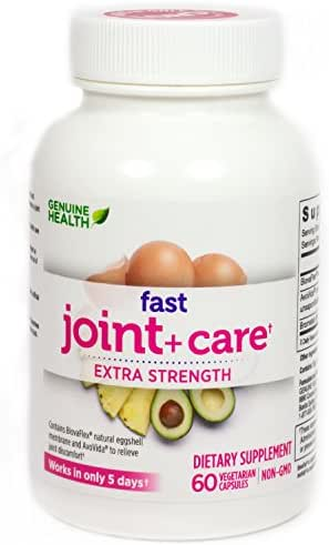Fast Joint+ Care Extra Strength Genuine Health 60 Veg Cap