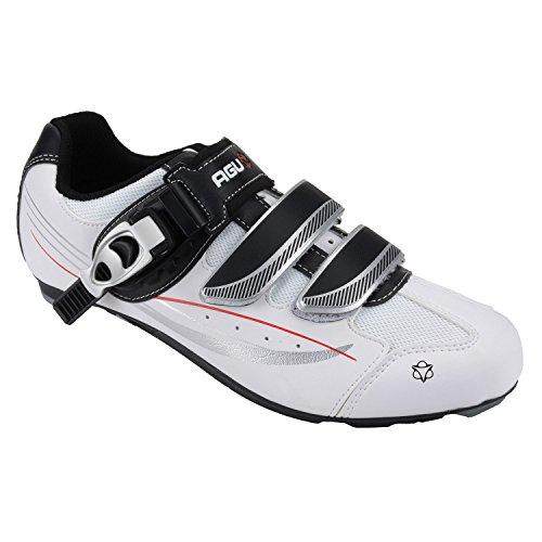 AGU, Scarpe da ciclismo uomo weiß - schwarz - silber
