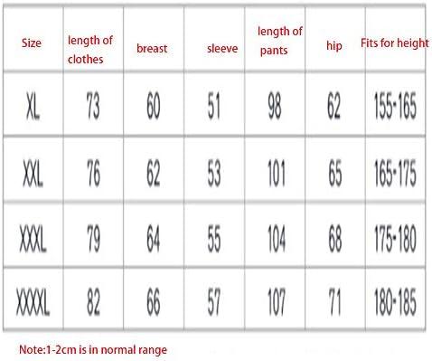 Zacheril Reflectante Impermeable Chaqueta y pantalón Impermeables Pesados para Hombres (Size : XL)