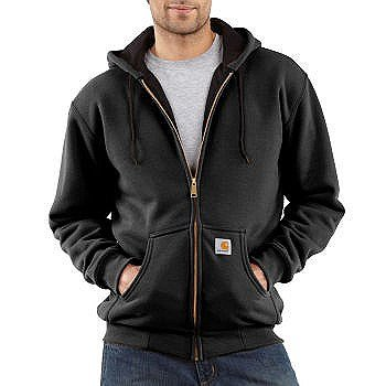 j149 Thermal Lined Hooded Zip - 1