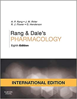 Rang And Dale Pharmacology 8th Edition Pdf