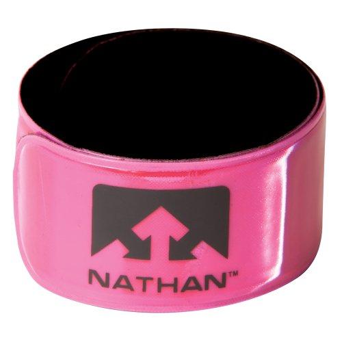 Nathan Reflex Snap Band (2-Pack), Hi-Viz Pink