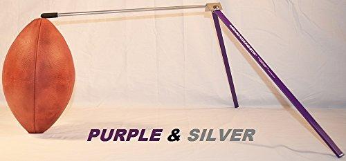 Purple Wizard (Wizard Kicking Stix Football Kicking Holder (Purple/Silver))