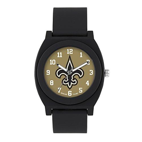 NFL New Orleans Saints Mens Fan Series Wrist Watch, Black, One Size -