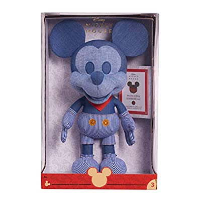 Disney Year of The Mouse Collector Plush - Train Conductor Mickey Mouse: Toys & Games