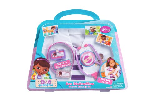 Doc McStuffins Doctor's Dress-Up Set (Discontinued by manufacturer) - Doc Mcstuffin Dress Up Set