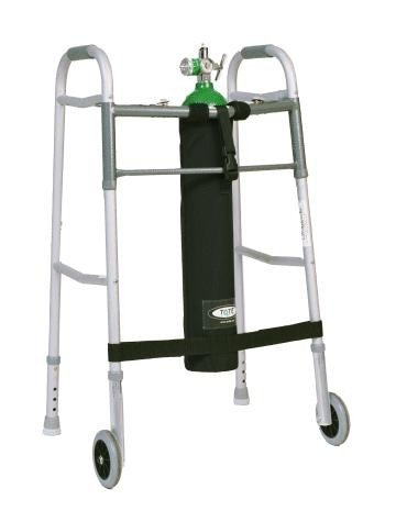 TO2TE E Size Oxygen Tank Holder for Walkers by Comfort Solutions