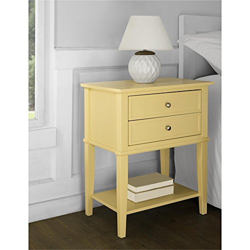 Ameriwood Home 5062496COM Franklin Accent Table 2 Drawers, Yellow by Ameriwood Home (Image #7)