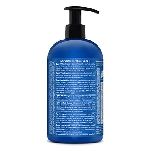Dr. Bronner's – Organic Sugar Soap (Peppermint, 24 Ounce) – Made with Organic Oils, Sugar and Shikakai Powder, 4-in-1…