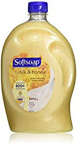 Softsoap Liquid Hand Soap Refill, Milk & Golden Honey, 56 Ounce