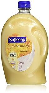 Softsoap Liquid Hand Soap Refill, Milk & Golden Honey, 56 Ounce