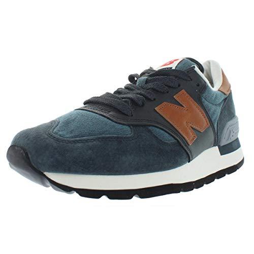 New Balance Mens Fashion Low Top Sneakers Navy 9.5 Medium (D) ()
