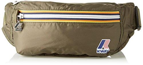 K-Way 6ak1336k0a501, Borsa Messenger Unisex Adulto, Verde (0A5 Army), 2x16x29 cm (W x H x L)