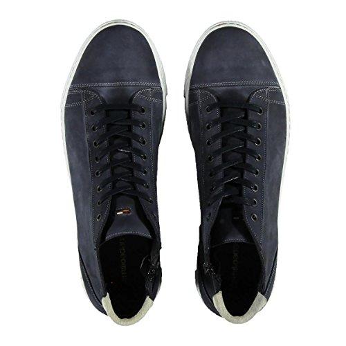 emilio adani Herren Modischer Sneaker, 23044, Blau